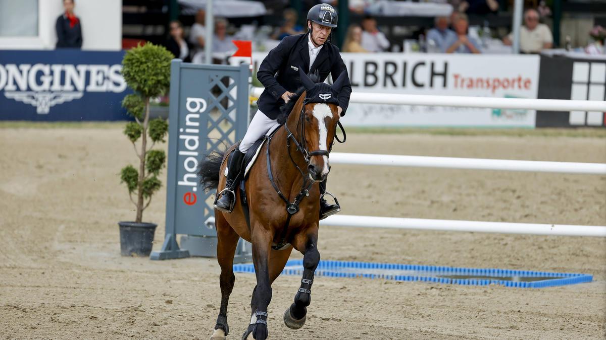 Marcus Ehning gewinnt seinen zweiten deutschen Meistertitel