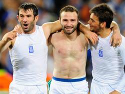 Griechenland wahrt sich die Chance aufs Achtelfinale