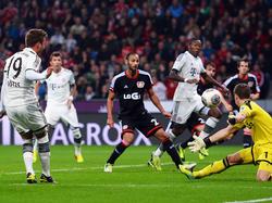 Bayern lässt gegen Leverkusen Punkte liegen
