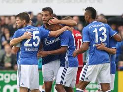 Souveräner Testspielsieg in Rheine für Schalke 04