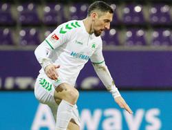 Roberto Hilbert traf zum zwischenzeitlichen 1:0 für Fürth