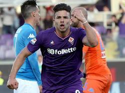 Simeone fue la estrella del encuentro con sus tres dianas. (Foto: Getty)