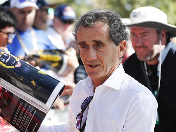 Alain Prost wünscht sich weniger Aerodynamik und mehr mechanischen Grip