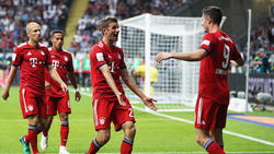 Thomas Müller war vom Auftritt Lewandowskis Auftritt begeistert