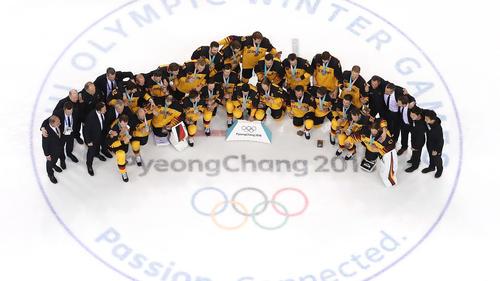 Die Eishockey-Nationalsmannschaft Deutschlands wurde in Pyeongchang sensationell Zweiter