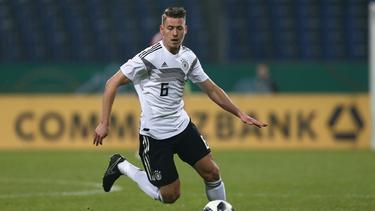 Anton spielt noch für die U21-Nationalmannschaft des DFB