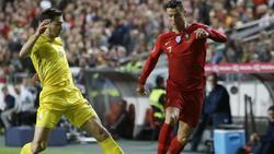 Cristiano Ronaldo patzt bei Comeback mit Portugal
