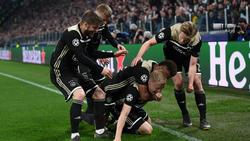 Ajax setzte sich nach Real Madrid auch gegen Juventus Turin durch