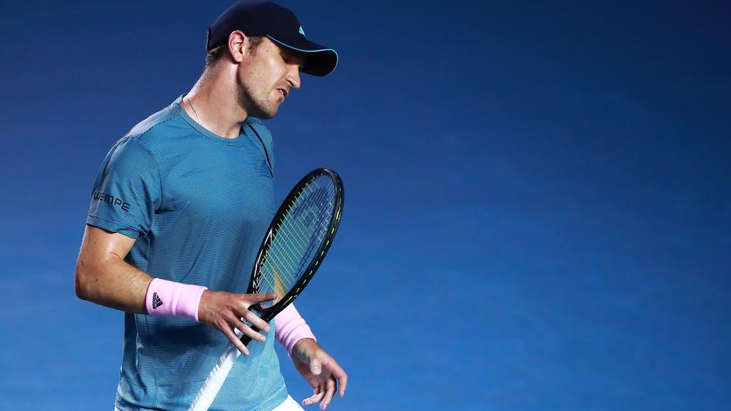 Mischa Zverev unterlag David Ferrer in der ersten Runde