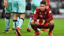 Die sportliche Zukunft von James Rodríguez ist noch ungeklärt