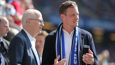 Marcell Jansen ist seit Anfang 2019 der neue starke Mann beim HSV
