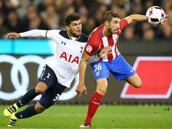 Sime Vrsaljko contra el Tottenham Hotspurs. (Foto: Getty)