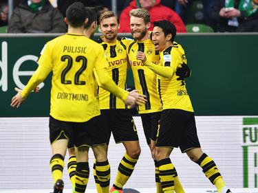 El Dortmund viajaba como invitado a la inauguración del nuevo estadio del Erfurt. (Foto: Getty)