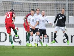 Bruno Fernandes das Traumtor für Portugal gegen die deutsche U21
