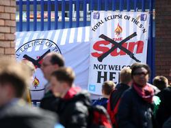 """Die """"Sun"""" hat Hausverbot bei Everton"""