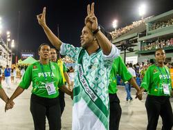 Möchte in die Politik: Ronaldinho (vorn)