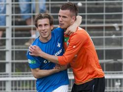 RonnyPhilp (rechts) und Sebastian Soekler (links)