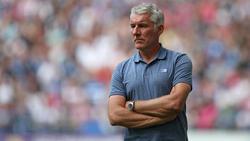 Mirko Slomka steht vor Auswärtsspiel in Kiel schon mächtig unter Druck