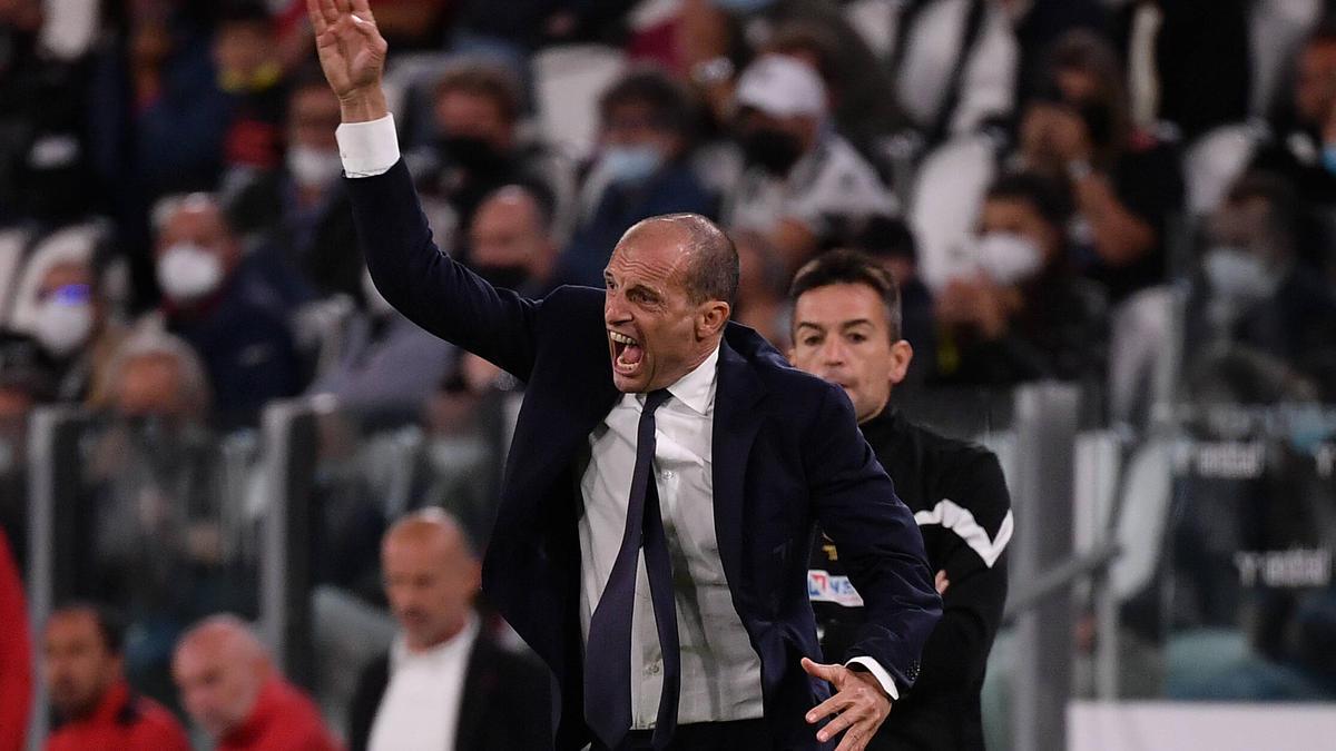 Massimiliano Allegri ist derzeit mit Juventus Turin nicht zufrieden