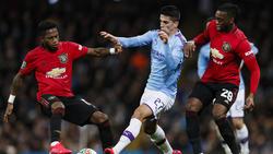 Manchester City steht im Finale des englischen Ligapokals