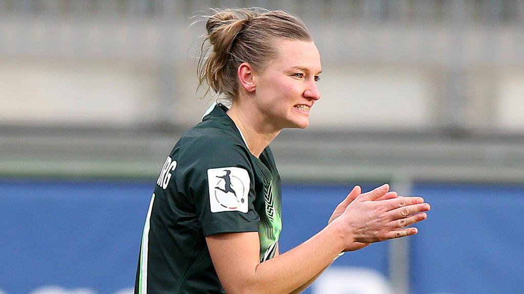 Alexandra Popp wünscht sich eine größere Unterstützung des Frauenfußballs