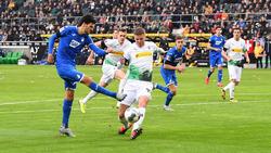 Borussia Mönchengladbach trennte sich Remis von der TSG Hoffenheim