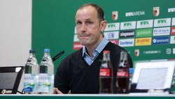 Heiko Herrlich muss nicht um seinen Job beim FC Augsburg fürchten