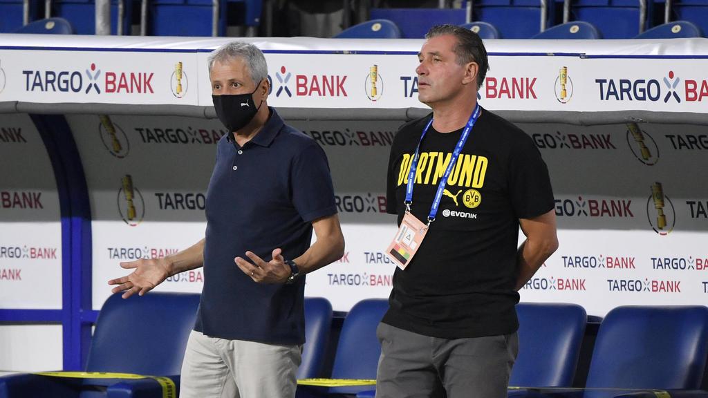 Lucien Favre und Michael Zorc wollen mit dem BVB Erfolge feiern