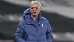 José Mourinho bleibt mit den Tottenham Hotspur vorerst an der Tabellenspitze