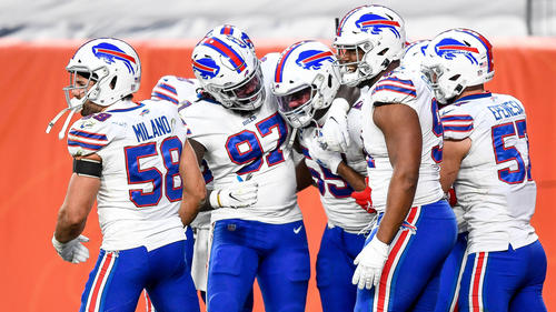 Die Buffalo Bills haben sich den Divisionstitel in der NFL gesichert