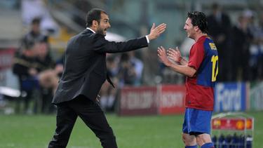 Pep Guardiola verhalf Lionel Messi zu seinem Aufstieg