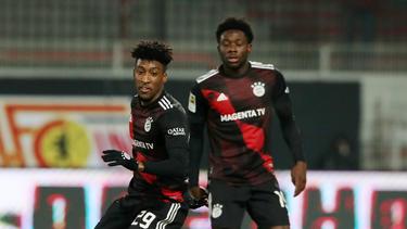 Der FC Bayern sucht Back-Ups für Coman und Davies