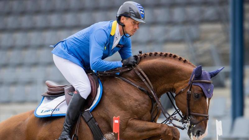 Christian Ahlmann muss in Tokio auf sein Top-Pferd verzichten
