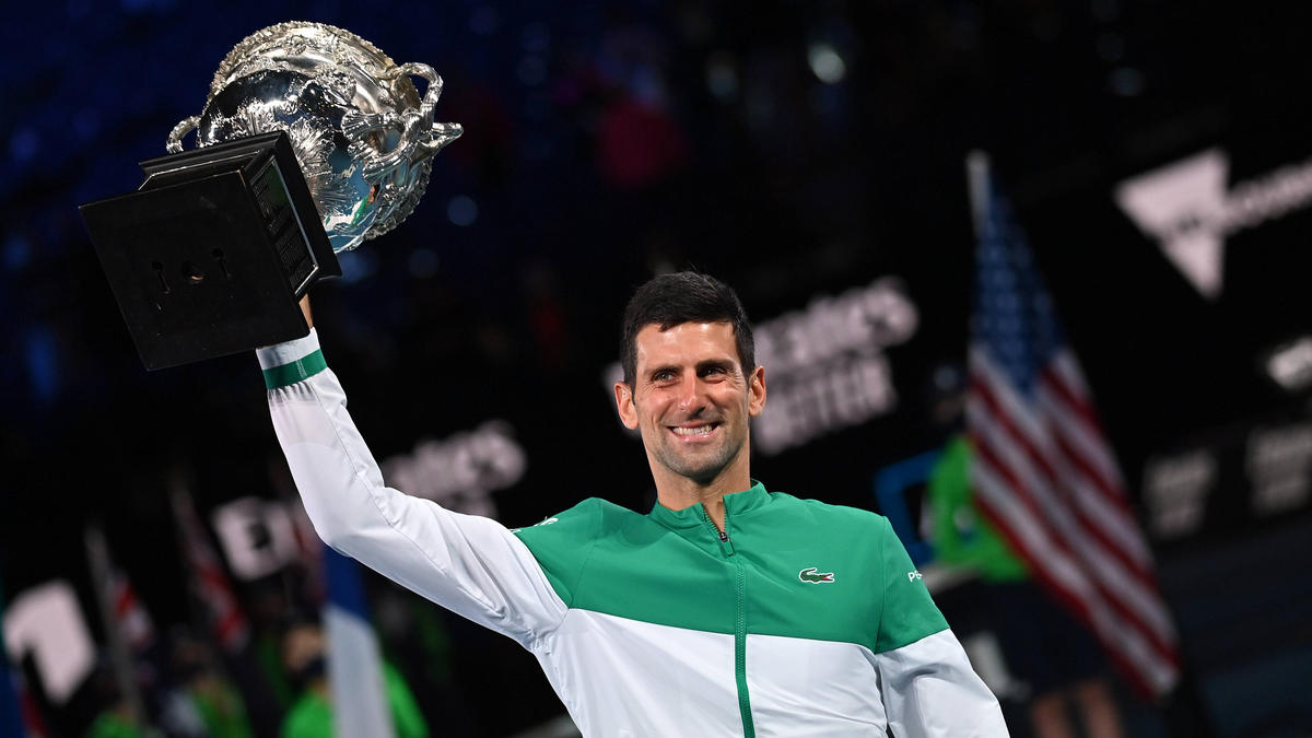 Novak Djokovic spielte mit einem Muskelriss