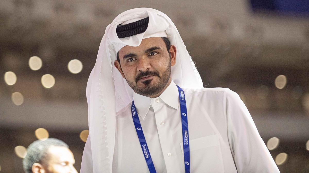 QOC-Präsident Scheich Joaan Bin Hamad Bin Khalifa Al-Thani