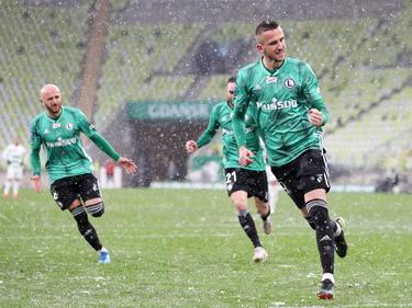 El ex del Las Palmas Tomáš Pekhart es el máximo goleador en Polonia.