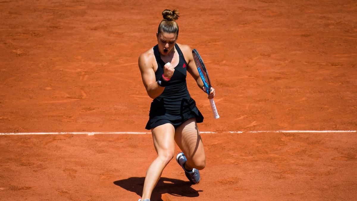Maria Sakkari ist die höchstgesetzte verbliebene Spielerin bei den French Open