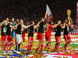 Bayern will auch 2014 wieder Trophäen holen