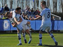 Schalkes A-Junioren jubeln auch gegen Chelsea