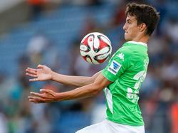 Sebastian Stolze spielt derzeit für die Reserve beim VfL Wolfsburg
