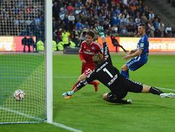 Nicolai Müllers Tor hält den HSV in Liga 1