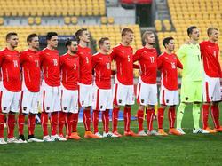 ÖFB-U20 vor dem Spiel gegen Argentinien