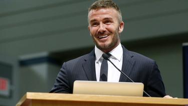 David Beckham hat in Miami große Pläne