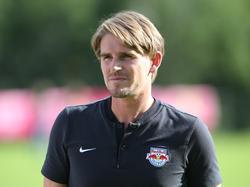 Bei Red Bull Salzburg soll das Rad am Laufen gehalten werden, sagt Sportchef Christoph Freund