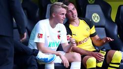 Felix Götze fehlt dem FCA für den Rest der Saison