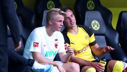 Felix und Mario Götze wollen künftig in einer Mannschaft spielen