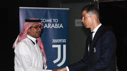 Auch Juves-Megastar Cristiano Ronaldo wird in Saudi-Arabien auflaufen