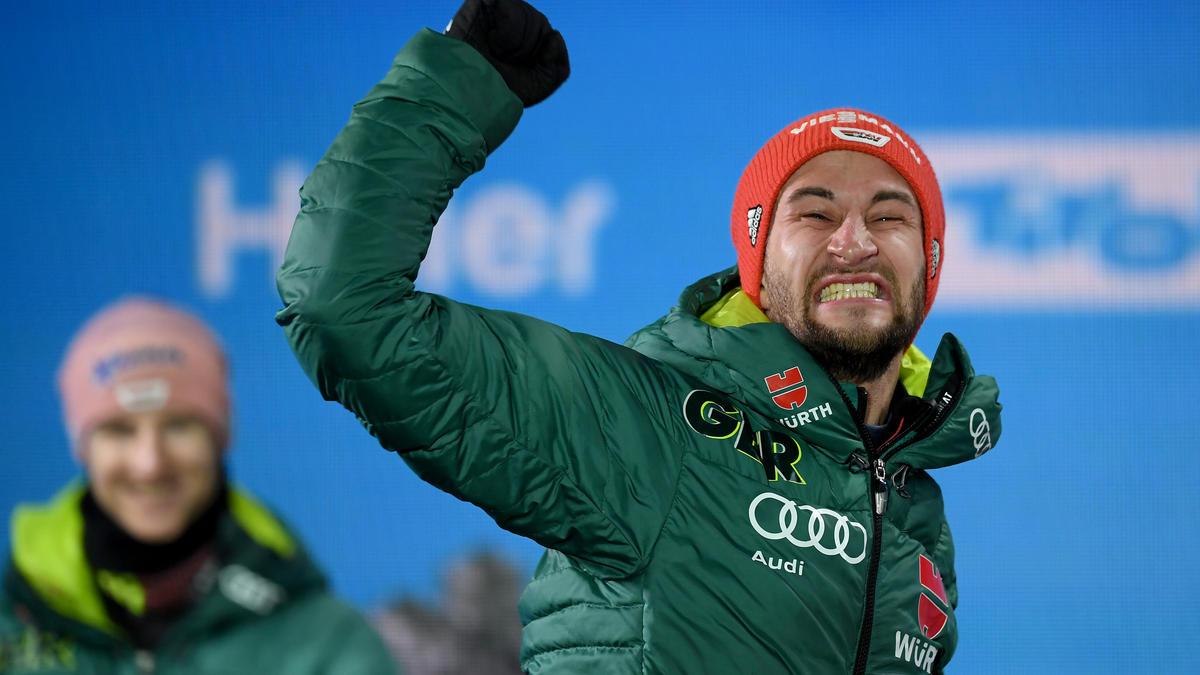 Markus Eisenbichler feiert ersten Weltcup-Sieg in Planica