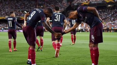 Der FC Arsenal steht im Finale der Europa League