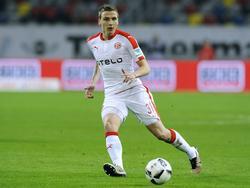 Grund zur Freude bei der Fortuna: Marcel Sobottka bleibt in Düsseldorf